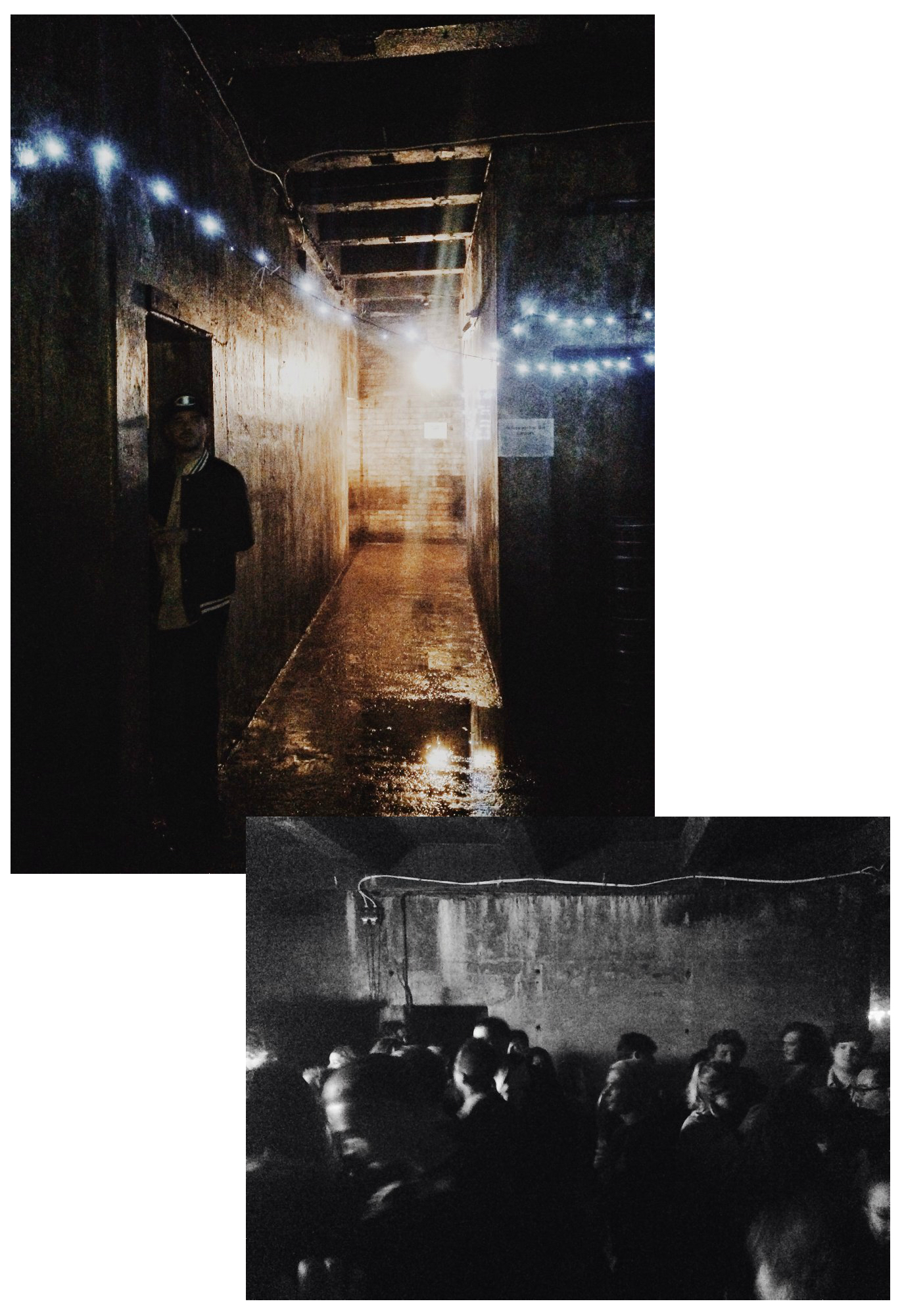 Dalston Party in a WW2 Bunker